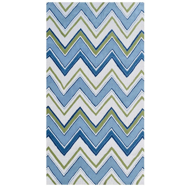 Nurture Imagination Boys' Blue Geo Fitted Sheet