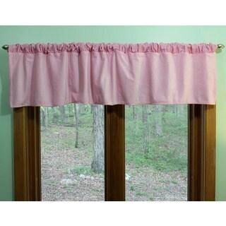 Nurture Imagination Pink Velour Valance
