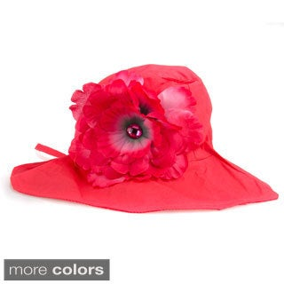 Girls' Fancy Sun Hat with Flower
