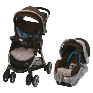 Graco FastAction Fold Travel System in Scribbles with $25 Rebate