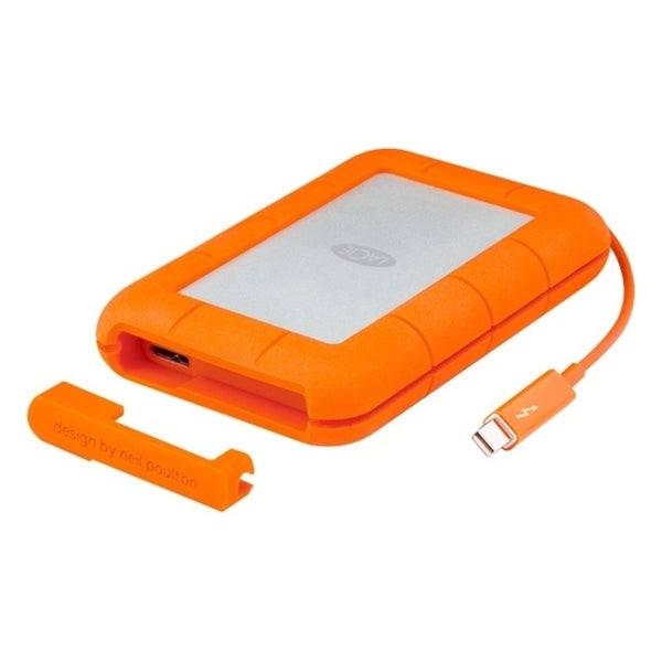 LaCie Rugged 500 GB External Solid State Drive