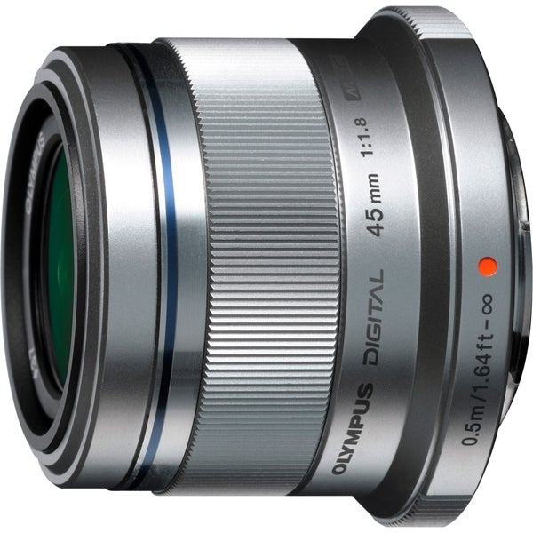 Olympus V311030SU000 45 mm f/1.8 Fixed Focal Length Lens for Micro Fo