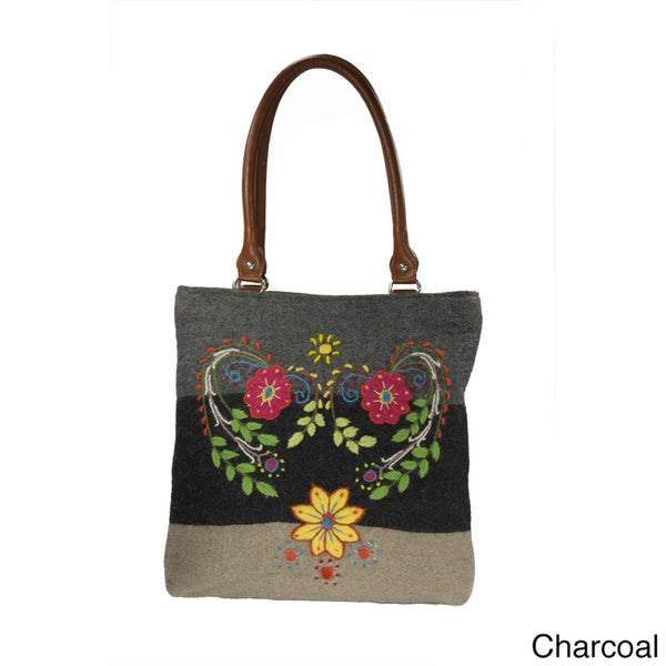 Hand-embroidered Alpaca Tote Bag (Peru)