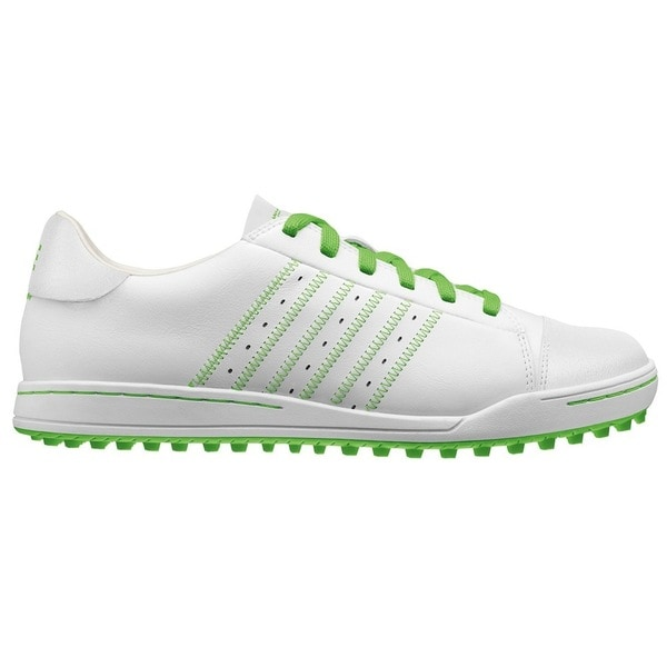 Adidas Men's Adicross White/ Lime Golf Shoes