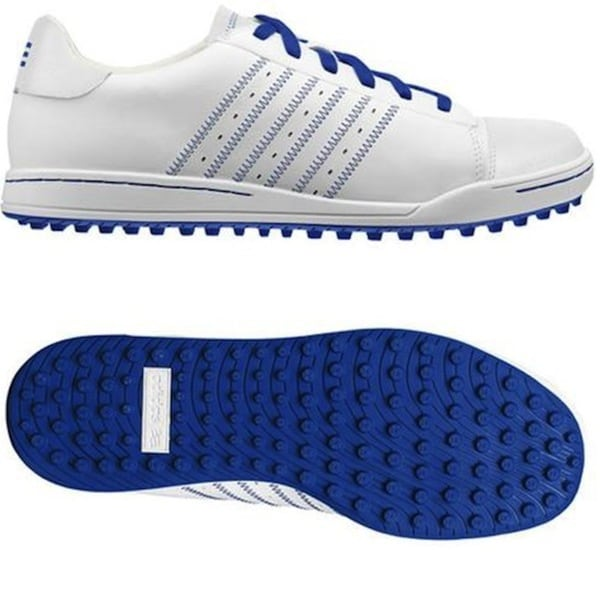Adidas Men's Adicross White/ Blue Golf Shoes