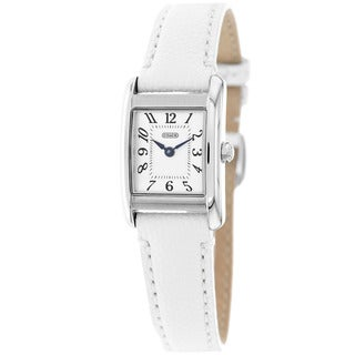 Coach Women's 14501901 Classic White Leather Watch
