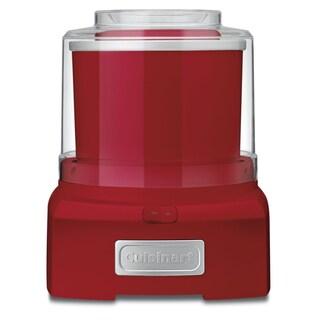 Cuisinart ICE-21R Frozen Yogurt, Ice Cream & Sorbet Maker - Red (Refurbished)
