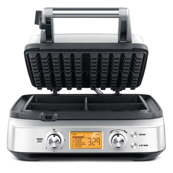 Breville BWM640XL The Smart Waffle Maker 4 Slices