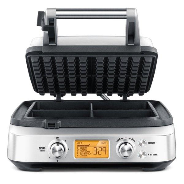 Breville BWM640XL The Smart Waffle Maker 4 Slices