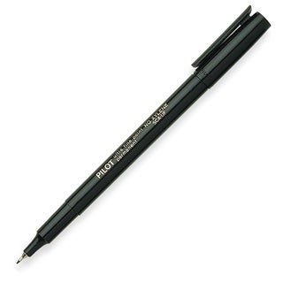 Pilot Ultra Fine Point Black Permanent Marker
