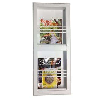 Key West Series 9 Recessed Double Magazine Rack