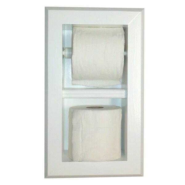 Deltona Series 12 Dual Recessed Toilet Paper Holder