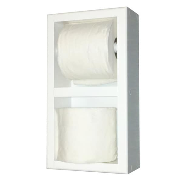 Deltona Series 13 Dual Surface Mounted Toilet Paper Holders