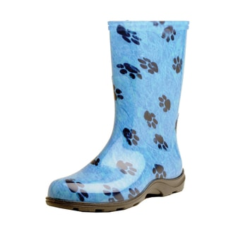 garden outfitters s paw print blue waterproof
