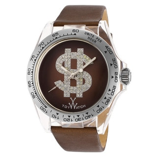 ToyWatch Women's D06BR Brown Leather Watch