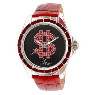 ToyWatch Women's D10BKR Red Leather Watch