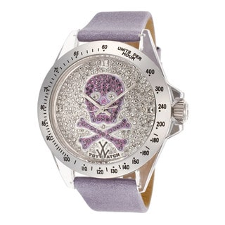 ToyWatch Women's S04WHOS Lilac Leather Watch
