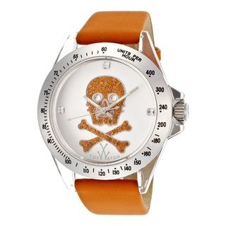 ToyWatch Women's S05OROS Orange Fabric Over Leather Watch