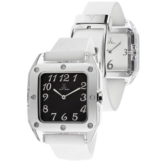 ToyWatch Women's TW02BW White Rubber Watch