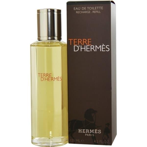 Hermes Terre D'Hermes Men's 4.2-ounce Eau de Toilette Splash Refill