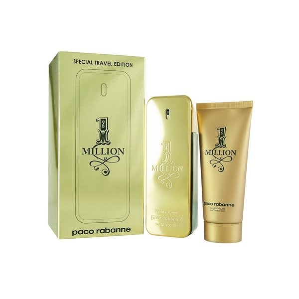 Paco Rabanne One Million Men's 2-piece Fragrance Set