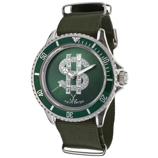 ToyWatch Men's D14GR Green Polycarbonate and Canvas Watch