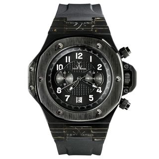 ToyWatch Mens' SM03BK Black Resin and Rubber Watch
