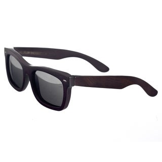 Earth Unisex 'Portsmouth 502e' Wood Square Sunglasses