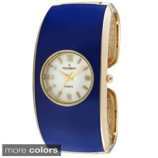 Peugeot Women's Classic Enamel Cuff Watch