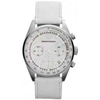Emporio Armani Women's AR6011 Sportivo White Watch