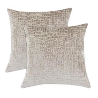Hook Sandstone Simply Soft Decorative Pillow (Set of 2)