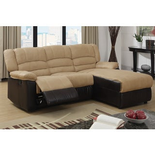 Motala Dual Trim Reclining Sectional