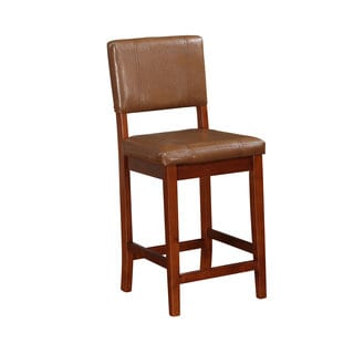 Linon Milano Russet Counter Stool