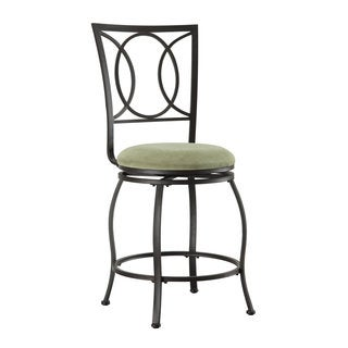 Half Circle Metal Counter Height Stool