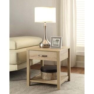 Aspen Blonde Single-drawer End Table