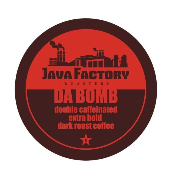 Java Factory 'Da Bomb' Single Serve Coffee Pods