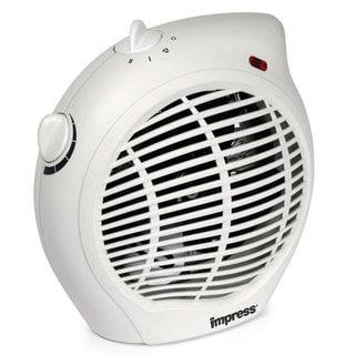 Impress 1500-watt 2-speed Fan Heater with Adjustable Thermostat