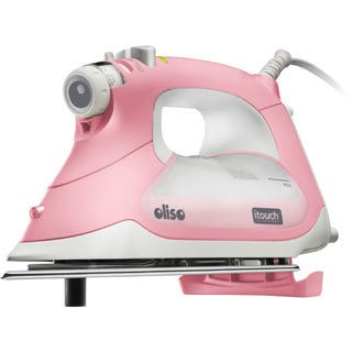 Oliso Pink 1800-watt Smart Iron with iTouch Technology