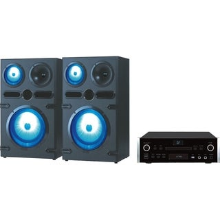 QFX HE-80820 2 Home Theater System - 1080p - Amplifier - DVD Player -