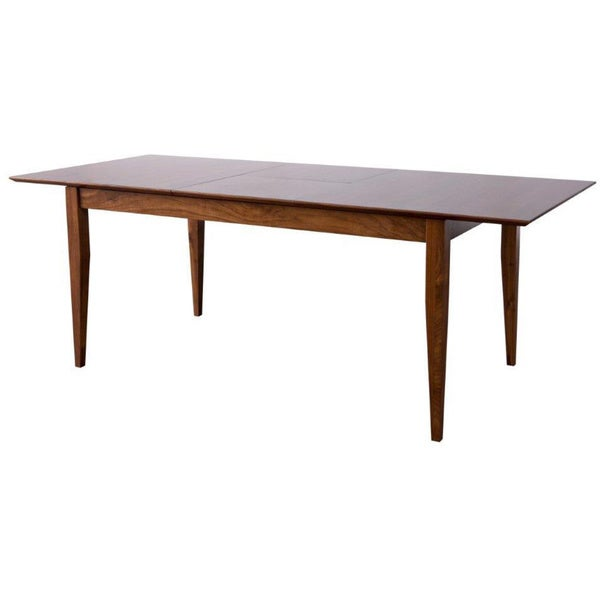 Landon Brown Solid Wood Dining Table