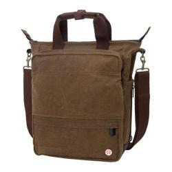 Token Waxed Fordham Convertible Bag Field Tan