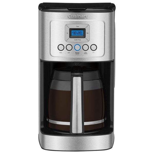 Cuisinart DCC-3200 Perfect Temp 14-Cup Programmable Coffeemaker Silver w/ Copco 16oz. Mug 296968890