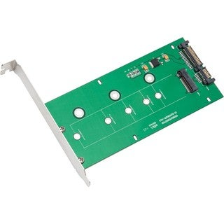 IOCrest M.2 NGFF to SATAIII Card with Full and Low Profile Brackets