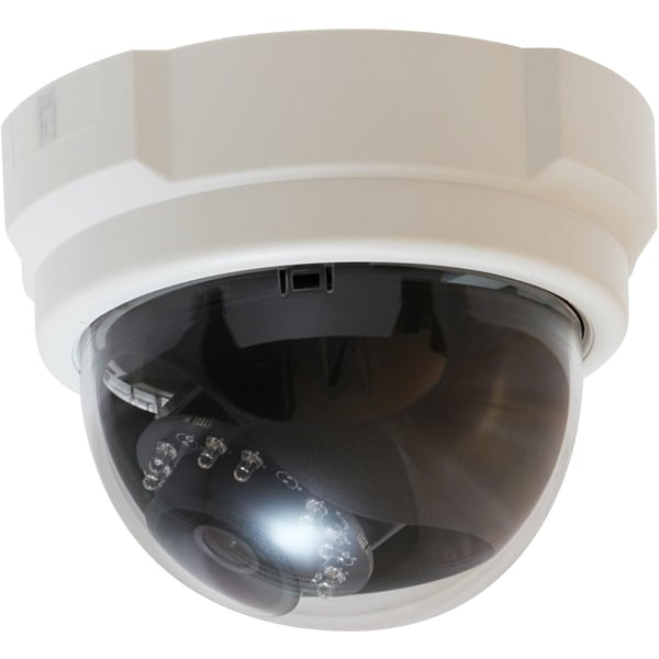 LevelOne H.264 3-Mega Pixel FCS-3053 PoE IP Dome Network Camera(Day/N
