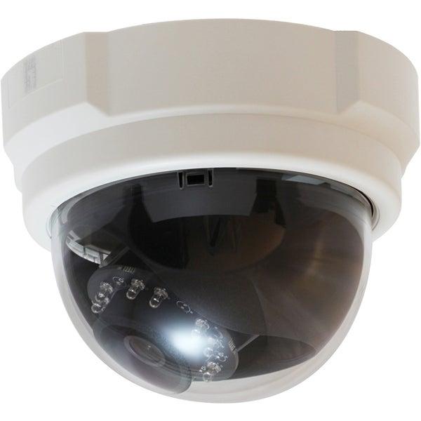 LevelOne H.264 3-Mega Pixel FCS-3053 PoE IP Dome Network Camera(Day/N