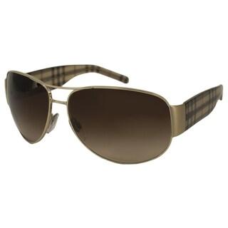 Burberry Men's BE3020M Aviator Sunglasses