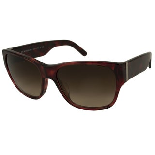 Burberry Women's BE4104MA Rectangular Sunglasses