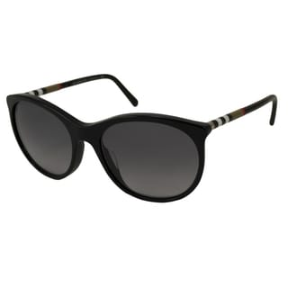 Burberry Women's BE4139A Oval Sunglasses