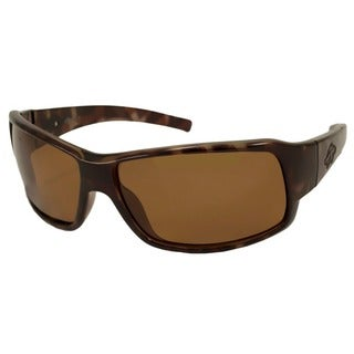 Anarchy Men's Transfer Polarized/ Wrap Sunglasses