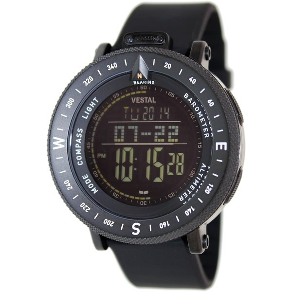 Vestal Men's The Guide GDEDP02 Black Digital Watch